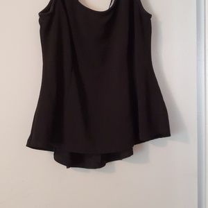 Ambiance Tops - **sold****Black . Peplum Top.
